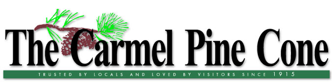 The Carmel Pine Cone                 logo