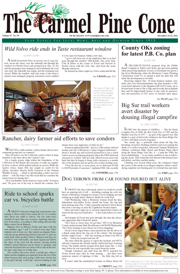 Click here to download the December 16, 2011, main news section