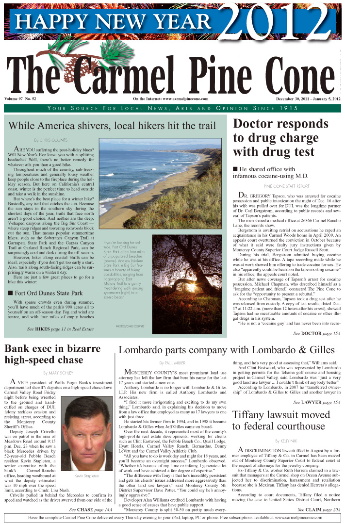 Click here to download the December 30, 2011, main news section