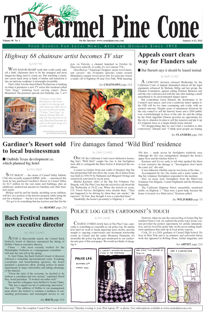 Click here to download the January 6, 2012, main news section