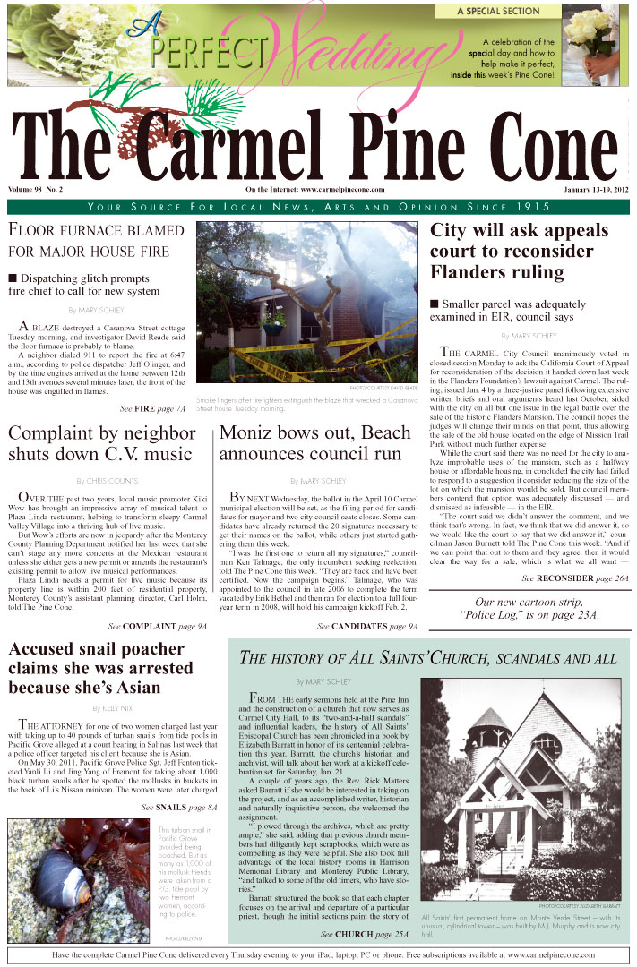 Click here to download the January 13, 2012, main news section