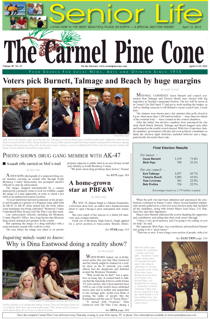 Click here to download the April 13, 2012, main news section