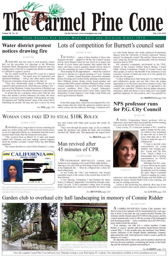 Click here to download the May 4, 2012, main news section