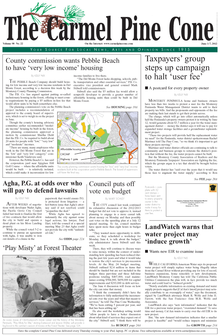 Click here to                 download the May 25, 2012, main news section