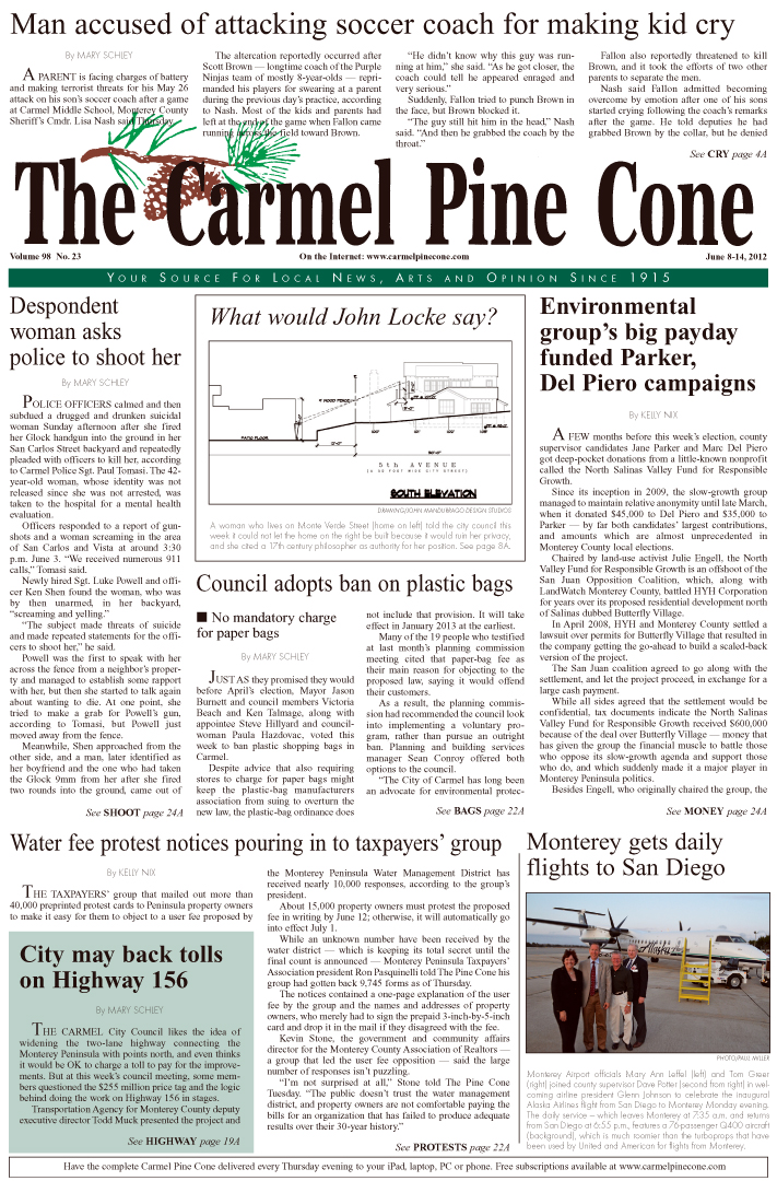 Click here to                 download the June 8, 2012, main news section