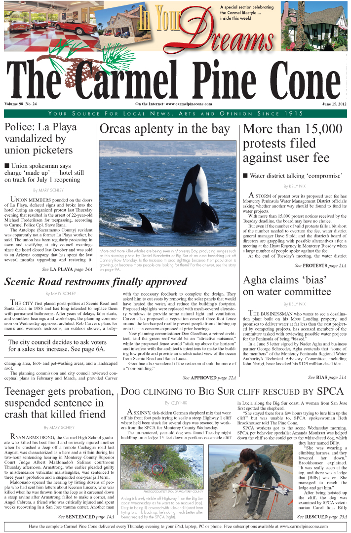 Click here to                 download the June 15, 2012, main news section