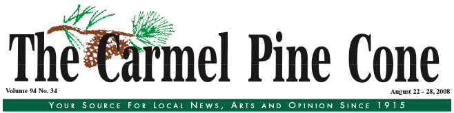Use this page to download the September 5, 2008, edition of The Carmel Pine Cone
