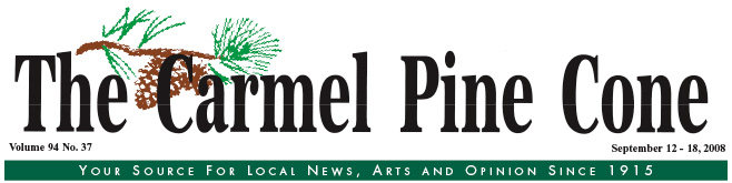 Use this page to download the September 12, 2008, edition of The Carmel Pine Cone