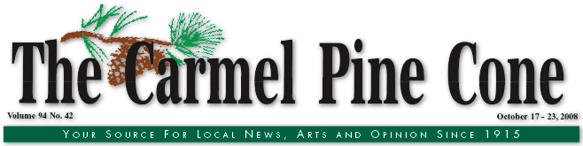 Use this page to download the October 17, 2008, edition of The Carmel Pine Cone